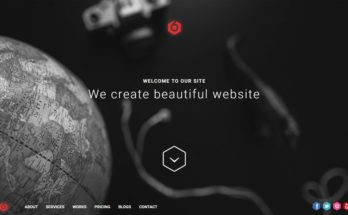 HTML шаблон сайта для веб-студии