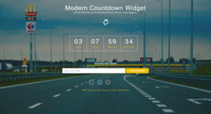 HTML заглушка сайта - Modern