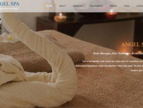 Шаблон сайта для SPA салона