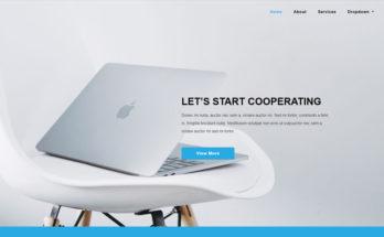 Современный шаблон на Bootstrap